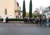 Volkstrauertag am Kriegerdenkmal