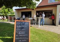 Kaffee und Grillen beim SVG Lülsfeld