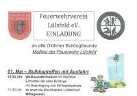 Maifest der Feuerwehr Lülsfeld